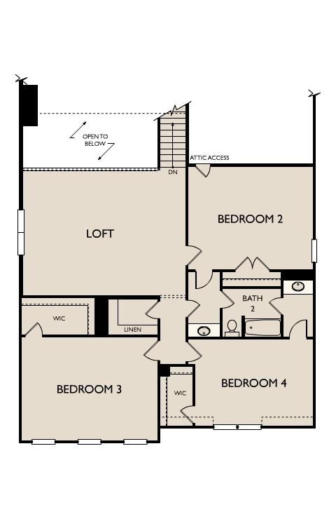 Second Floor X